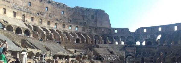 Das Kolloseum von Innen