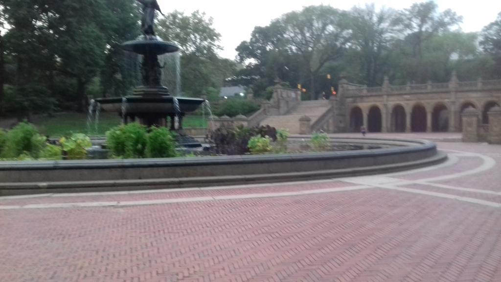 Der Central Park in den frühen Morgenstunden. Und nur New York schläft doch!