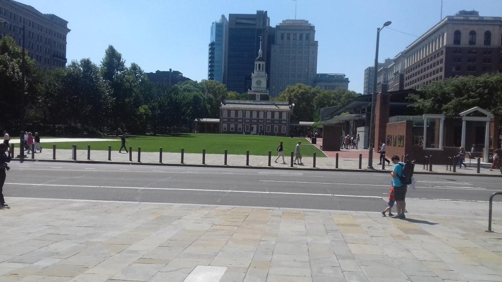 Freedom Hall in Philadelphia